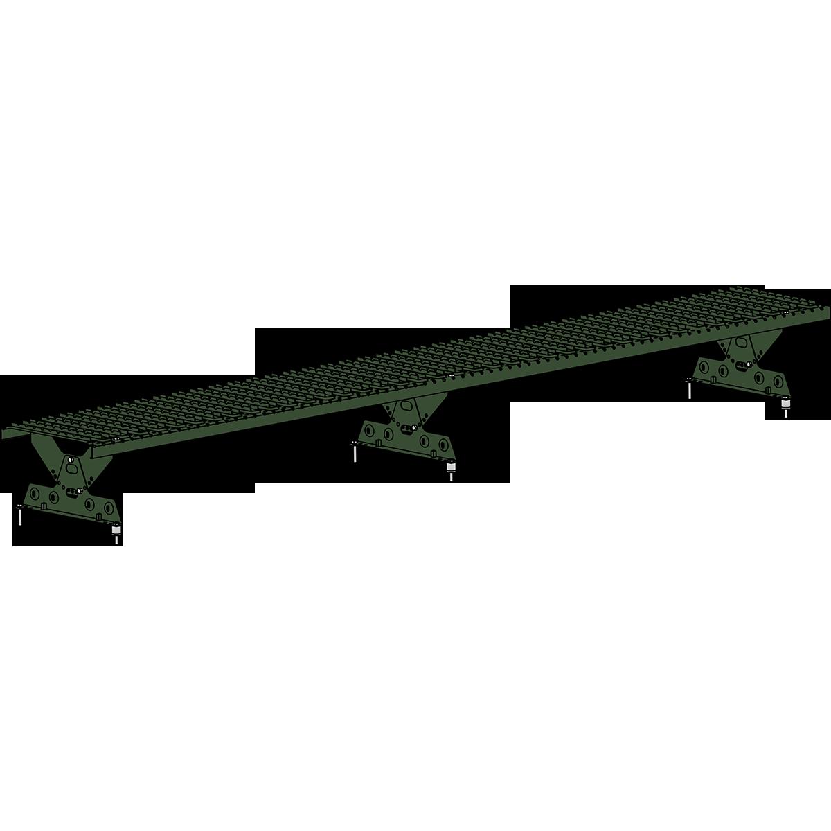 Мостик кровельный ROOFSYSTEMS ELITE 330 NEXT 2,5 м RAL 6020 Зеленый хром
