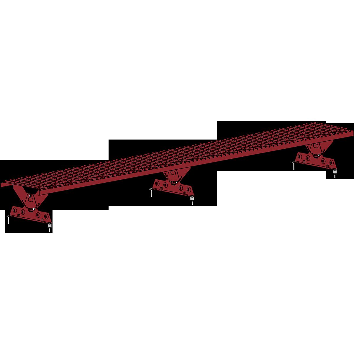 Мостик кровельный ROOFSYSTEMS ELITE 330 NEXT 2,5 м RAL 3011 Коричнево-красный