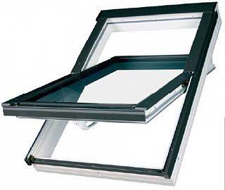 Окно мансардное PTP-V U3 ПВХ белое